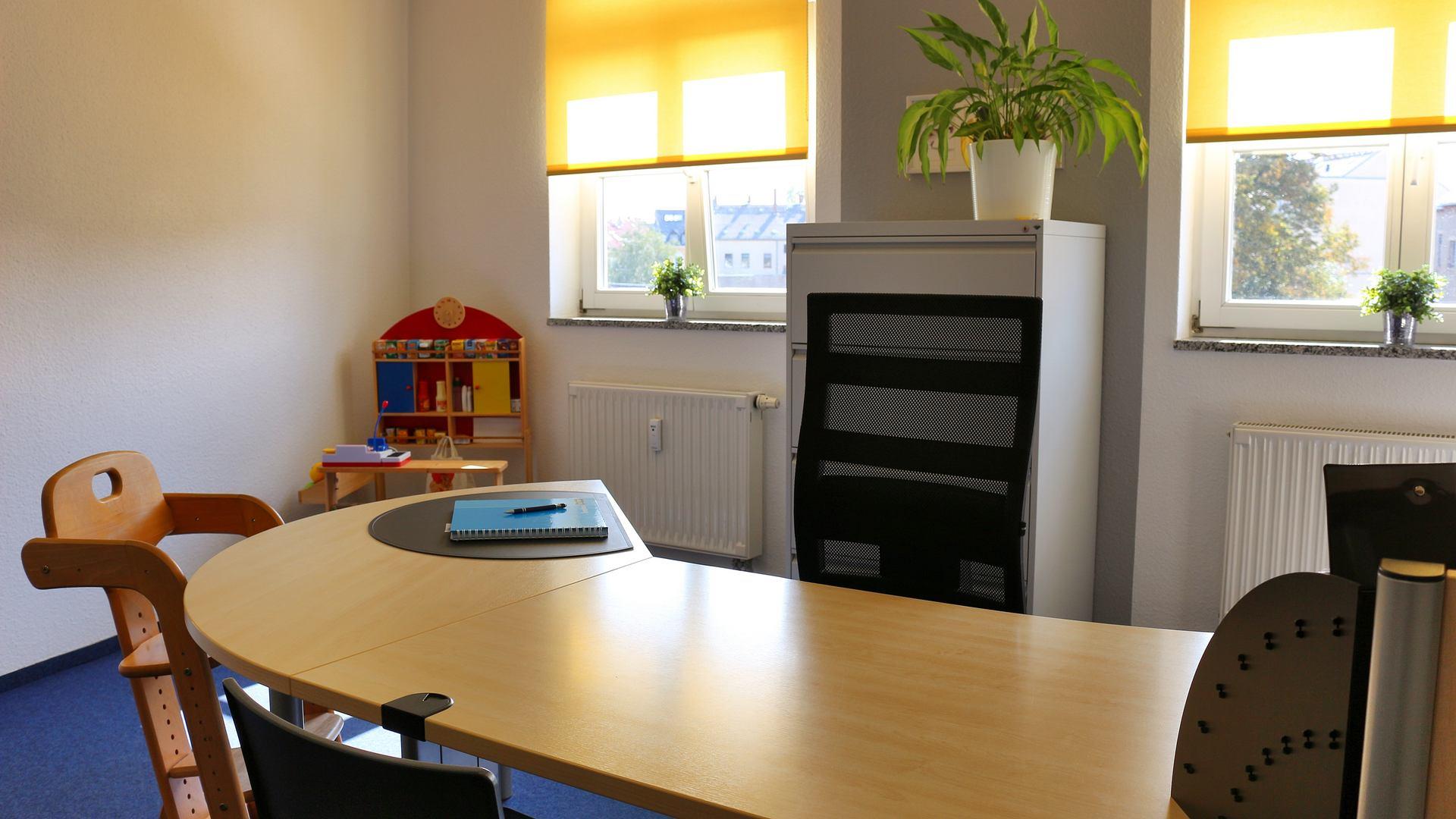 Praxis für Logopädie in Chemnitz Zimmer 3